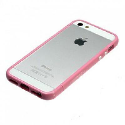 Бампер SGP Cace Linear EX для iPhone 5/5S Розовый