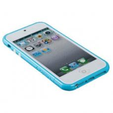Бампер SGP Cace Linear EX для iPhone 5/5S Голубой