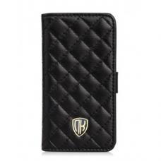 Кожаный чехол Nuoku для iPhone 4/4S Chic Luxury Lambskin Case Черный