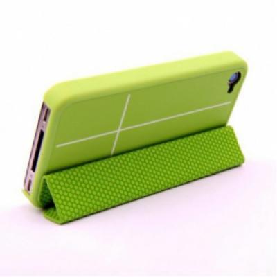Чехол для iPhone 4/4S Guoer Smart Cover Зеленый
