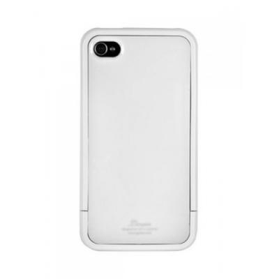 Чехол SGP Cace для iPhone 4/4S Linear Color Serries Белый