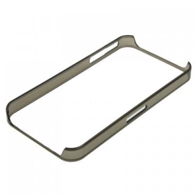 Ультра тонкий бампер для iPhone 4/4S Черный Прозрачный