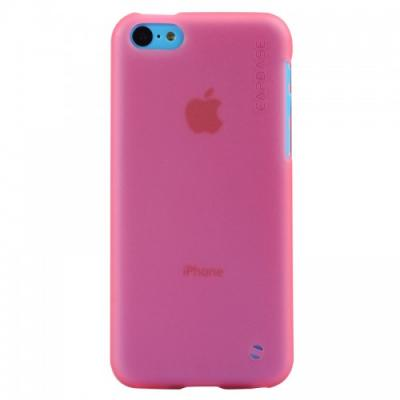 Силиконовый Чехол для iPhone 5C Capdase Soft Jacket Розовый