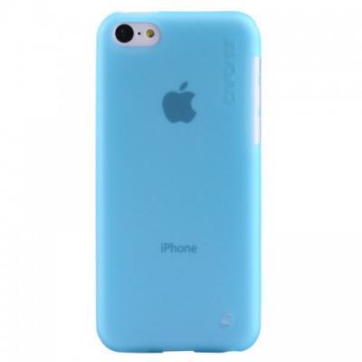 Силиконовый Чехол для iPhone 5C Capdase Soft Jacket Голубой