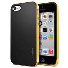 Чехол для iPhone 5C SGP Case Neo Hybrid Черный/Желтый
