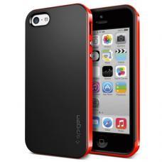 Чехол для iPhone 5C SGP Case Neo Hybrid Черный/Красный