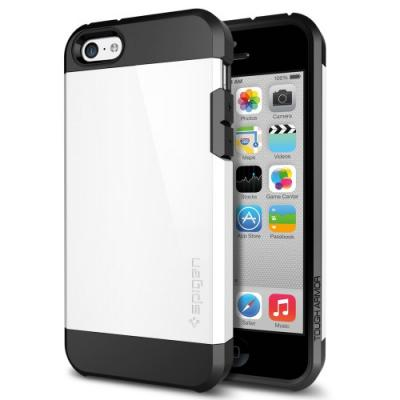 Чехол для iPhone 5C SGP Case Tough Armor Белый