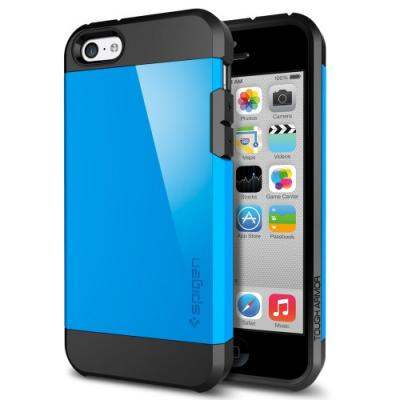 Чехол для iPhone 5C SGP Case Tough Armor Голубой