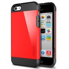 Чехол для iPhone 5C SGP Case Tough Armor Красный