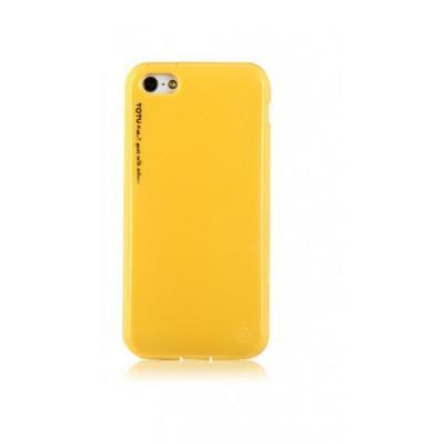 Силиконовый Чехол для iPhone 5C Totu Желтый