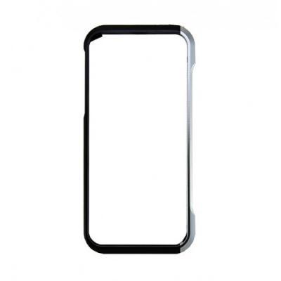 Алюминиевый бампер для iPhone 5/5S Element Case Vapor 4 Черный/Серебристый
