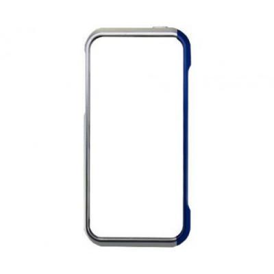 Алюминиевый бампер для iPhone 5/5S Element Case Vapor 5 Серебристый/Синий