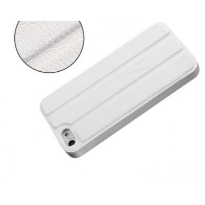 Чехол для iPhone 5/5S Guoer Smart Cover Кожаный Белый