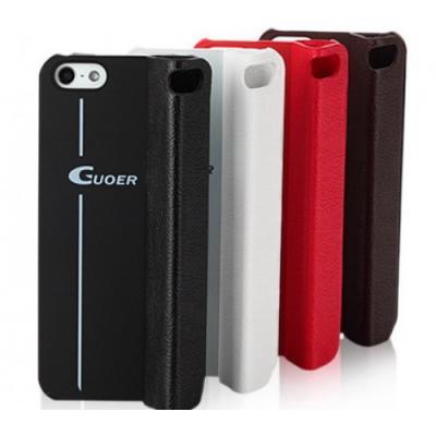 Чехол для iPhone 5/5S Guoer Smart Cover Кожаный Черный