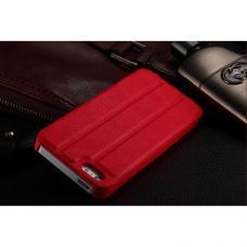 Чехол для iPhone 5/5S Guoer Smart Cover Кожаный Красный