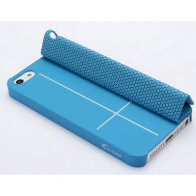 Чехол для iPhone 5/5S Guoer Smart Cover Голубой