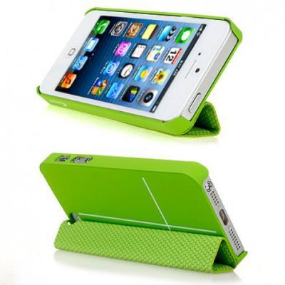 Чехол для iPhone 5/5S Guoer Smart Cover Зеленый