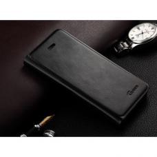 Кожаный Флип-чехол для iPhone 5/5S Guoer Черный