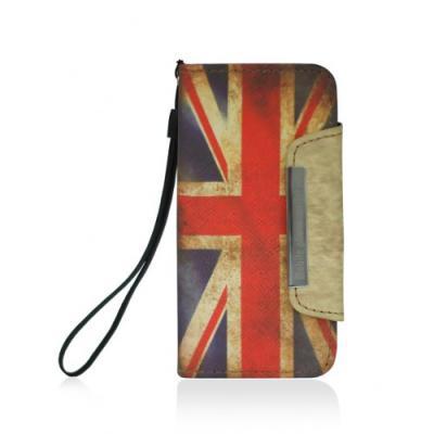 Чехол-визитница для iPhone 5/5S Британский Флаг
