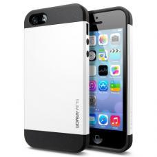 Чехол для iPhone 5C SGP Case Slim Armor Color Белый