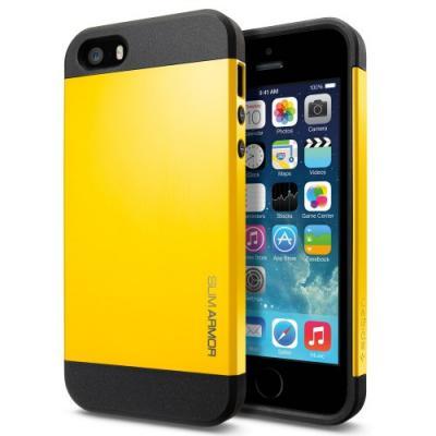 Чехол для iPhone 5C SGP Case Slim Armor Color Желтый