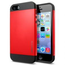 Чехол для iPhone 5C SGP Case Slim Armor Color Красный