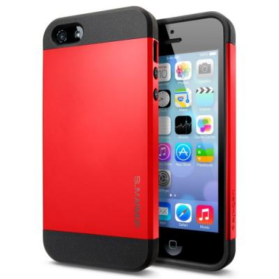 Чехол для iPhone 5C SGP Case Slim Armor Color Красный