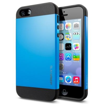 Чехол для iPhone 5C SGP Case Slim Armor Color Голубой
