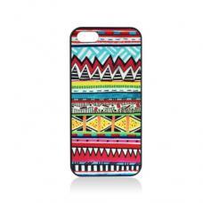 Этнический Чехол для iPhone 5 Красный зигзаг