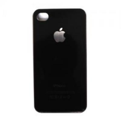 Накладка для iPhone 5/5S имитация задней крышки, Черный