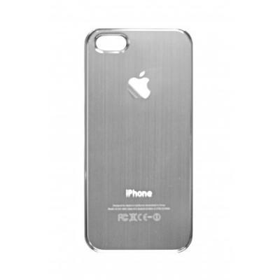 Накладка для iPhone 5/5S имитация задней крышки (серая)