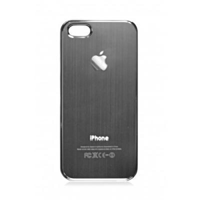 Накладка для iPhone 5/5S имитация задней крышки, Графит