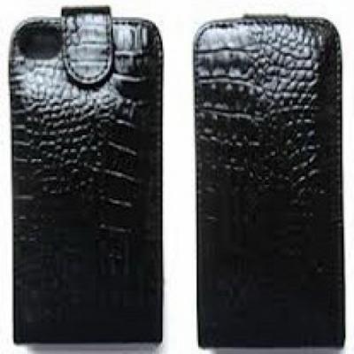 Чехол для iPhone 5/5S Крокодил Черный