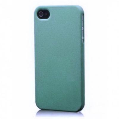 Чехол-накладка для iPhone 5/5S шероховатый Голубой