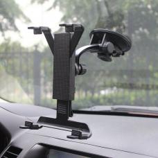 Автомобильный держатель на приборную панель, лобовое стекло для планшетов 1020 Черного цвета