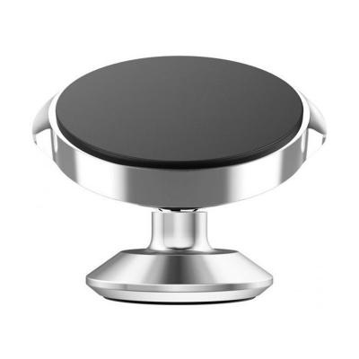 Автомобильный магнитный держатель на приборную панель или лобовое стекло Baseus SUER-B0S Small Ears Series Серебристый
