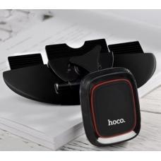 Автомобильный магнитный держатель в CD-слот Hoco CA25 Черного цвета