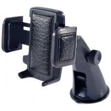 Автомобильный держатель на приборную панель, лобовое стекло или в воздуховод FLY S2197W-Y Черного цвета
