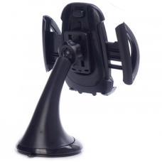 Автомобильный держатель на приборную панель или лобовое стекло HL-68 Черного цвета