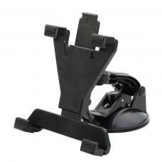 Автомобильный держатель на приборную панель, лобовое стекло для планшетов LC-01 Черного цвета