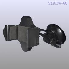Автомобильный держатель на приборную панель или лобовое стекло OHOYO 2262-AO Черного цвета