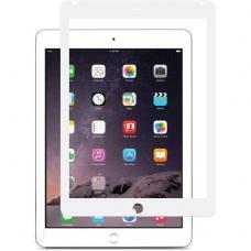 Защитное стекло 3D на весь экран для iPad 2, 3, 4 c Белой рамкой