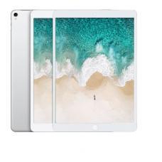 """Защитное стекло 3D на весь экран для iPad Pro 11"""" 2018 с Белой рамкой"""
