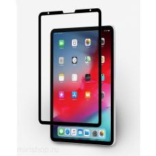 """Защитное стекло 3D на весь экран для iPad Pro 11"""" 2018 c Черной рамкой"""