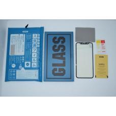 Защитное бронь стекло Remax Gener Anti Blue-ray для iPhone X Черное