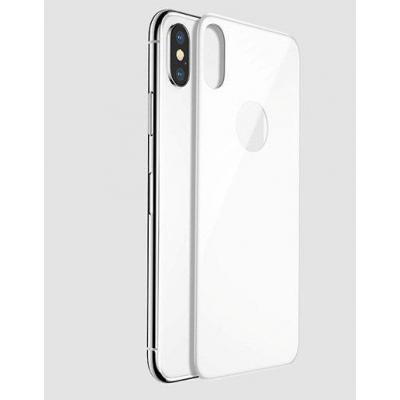 Черное защитное стекло корпуса Baseus Arc-sufra для iPhone 10 Белое