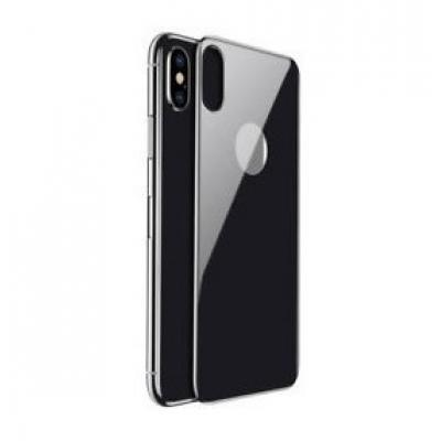 Черное защитное стекло корпуса Baseus Arc-sufra для iPhone 10