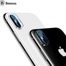 Защитное стекло для задней камеры Baseus 0.2m 2шт на iPhone X
