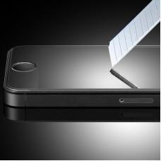 Глянцевое защитное стекло Premium 0.3mm для iPhone 5, 5s, 5c, SE