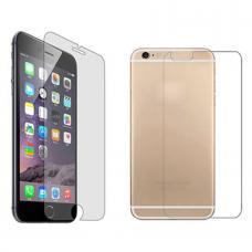Защитное глянцевое двухстороннее стекло Premium 2в1 для iPhone 6, 6s